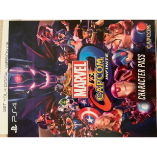 Ps4 marvel Vs capcom infinite character pass