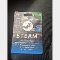$100.00 CAD Steam