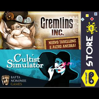 Indie Card Game Pack [Cultist Simulator + Gremlins, Inc.]