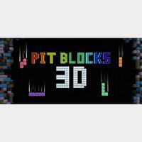 Pit Blocks 3D [Steam Key Global]