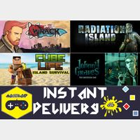 Indie Action Pack [Johnny Graves + Cube Life: Island Survival + Wrack + Radiation Island]