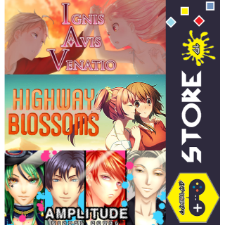 Indie Visual Novel Anime Pack [AMPLITUDE: A Visual Novel + Highway Blossoms + Ignis Avis Venatio]