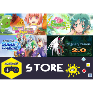 Indie Anime Style Pack [Angels of Fasaria: Version 2.0 + Suguri Collection + Fairy Bloom Freesia + Angel Express]