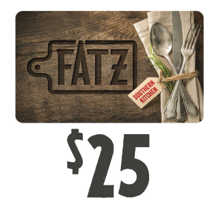 $25.00 Fatz Southern Kitchen Gift Card | (Instant - Auto Delivery)