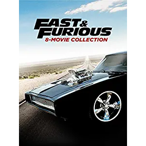 Fast & Furious 8 Movie Collection HDX