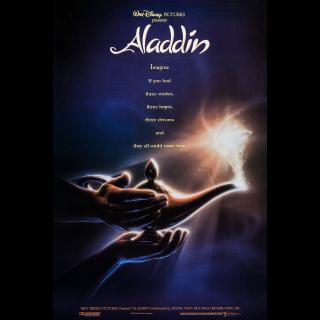 Aladdin 4K UHD MA DMR ANIMATED