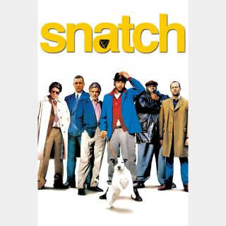 Snatch UHD 4K MOVIES ANYWHERE