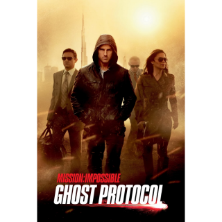Mission: Impossible - Ghost Protocol VUDU HDX