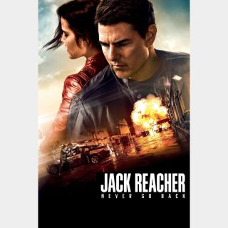 Jack Reacher: Never Go Back VUDU HDX