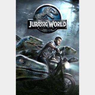 Jurassic World VUDU HDX OR ITUNES MA