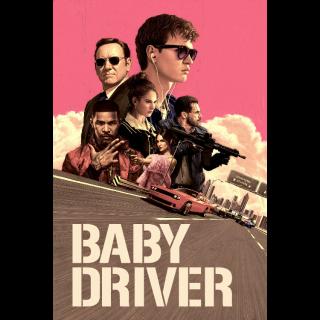 Baby Driver VUDU HDX