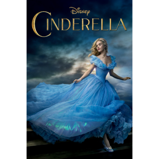 Cinderella MOVIES ANYWHERE HD WITH DISNEY POINTS
