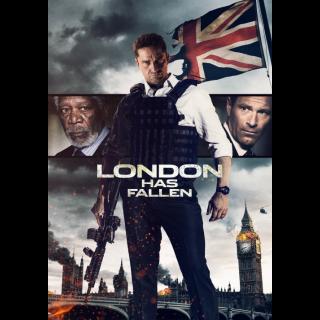 London Has Fallen VUDU HDX ITUNES HD