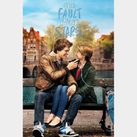 The Fault in Our Stars MA HD VUDU HDX or iTUNES HD