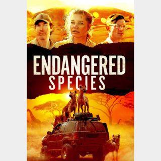 Endangered Species VUDU hdx