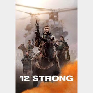 12 Strong VUDU HDX