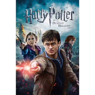 Harry Potter and the Deathly Hallows: Part 2 Vudu hdx