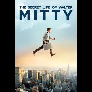 The Secret Life of Walter Mitty VUDU ITUNES HD