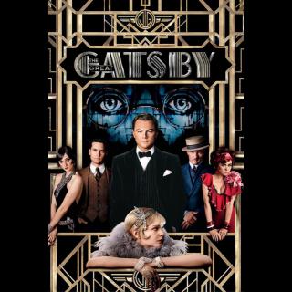 The Great Gatsby VUDU HDX