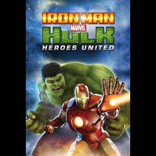 Iron Man & Hulk: Heroes United Vudu Movies Anywhere HD