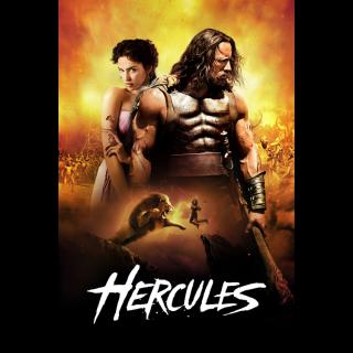 Hercules ACTUAL CODE ITUNES HD