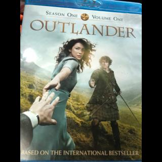 Outlander season one volume one Vudu hdx