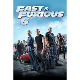 Fast & Furious 6 vudu hdx ma hd