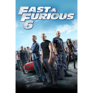 Fast & Furious 6 extended edition Vudu hdx movies anywhere hd