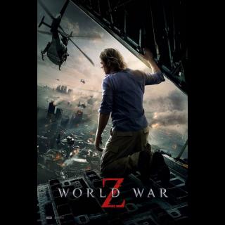 World War Z VUDU HDX
