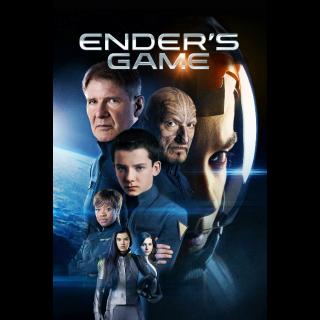 Ender's Game VUDU HDX