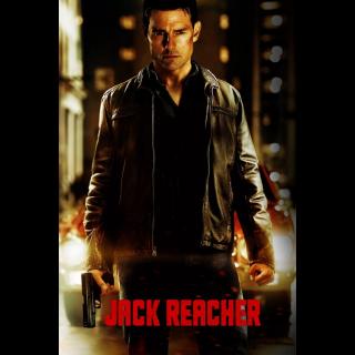 Jack Reacher VUDU HDX