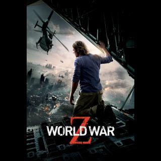 World War Z ITUNES HD