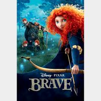 Brave MA OR VUDU HD WITH DISNEY POINTS
