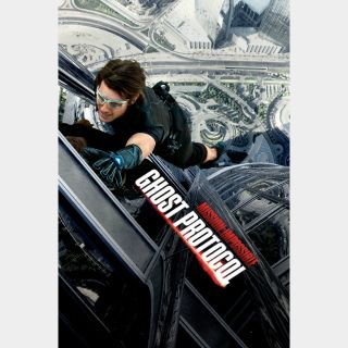 Mission: Impossible - Ghost Protocol  iTUNES HD