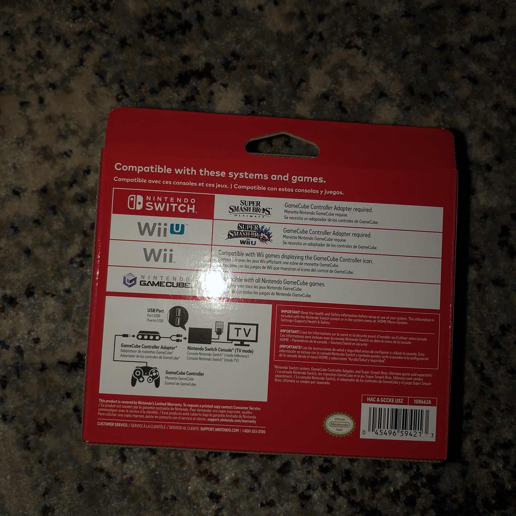 Nintendo Switch Brand Super Smash Bros Ultimate Gamecube Controller