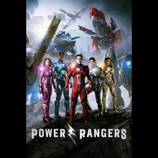 Power Rangers itunes vudu UHD 4K