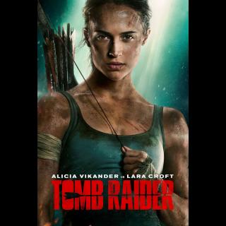 Tomb Raider VUDU HDX MA HD