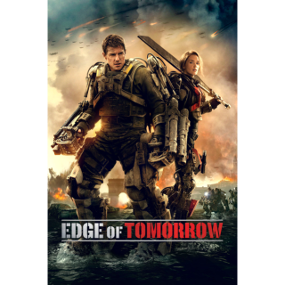 Edge of Tomorrow Vudu hdx
