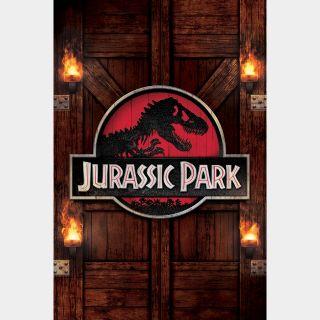 Jurassic Park VUDU HDX OR ITUNES HD