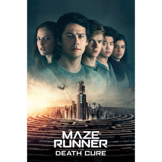 Maze Runner: The Death Cure vudu hdx movies anywhere hd