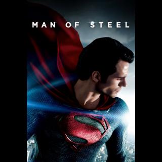 Man of Steel Movies Anywhere VUDU HDX