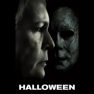 Halloween UHD 4K VUDU ITUNES MOVIES ANYWHERE