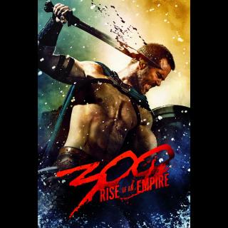 300: Rise of an Empire ACTUAL CODE VUDU HDX
