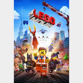 The Lego Movie UHD 4K MOVIES ANYWHERE