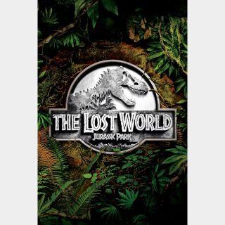 The Lost World: Jurassic Park VUDU OR ITUNES HD
