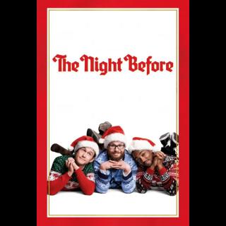 The Night Before HD MOVIES ANYWHERE VUDU HDX