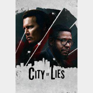 City of Lies Vudu HDX