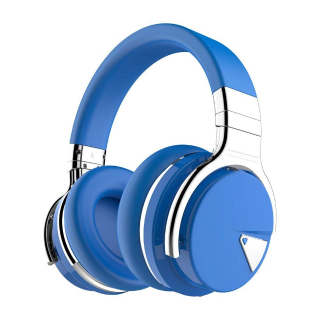 COWIN E7 Active Noise Cancelling Bluetooth Headphones - Blue