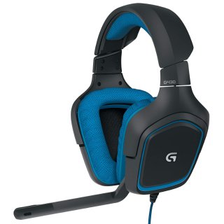 Logitech G430 7.1 DTS Headphone: X and Dolby Surround Sound Gaming Headset for PC, Playstation 4