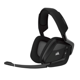 CORSAIR Void PRO RGB Wireless Gaming Headset - Dolby 7.1 Surround Sound Headphones for PC